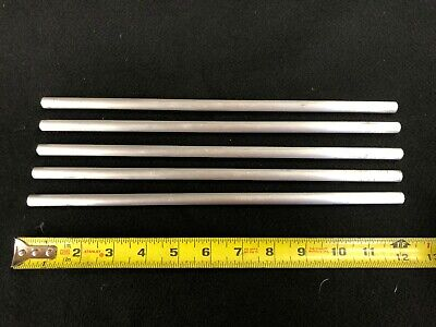 "3/8"" round ALUMINUM  ROD/BAR  6061 12.00"" long  5pcs  Lathe or milling Stock"