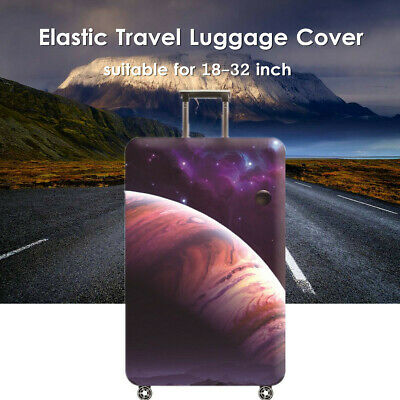 18-32'' Elastic Travel Luggage Cover Suitcase Protector Trolley Dustproof