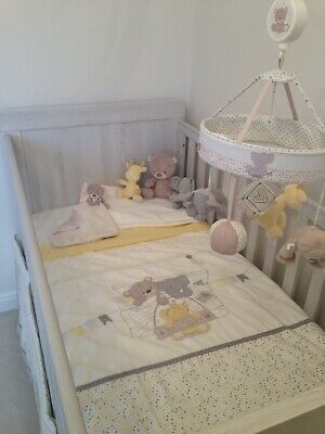 Mothercare 'Teddy's Toy Box' Cot or Cot Bed Bedding Set