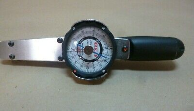 """PROTO J6169F DIAL TORQUE WRENCH 1/4"""" DRIVE 15 - 75 In. Lbs. TORQUE RANGE"""