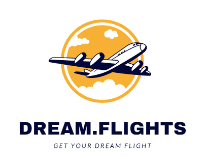 Dream.flights awesome premium domain for a travel brand