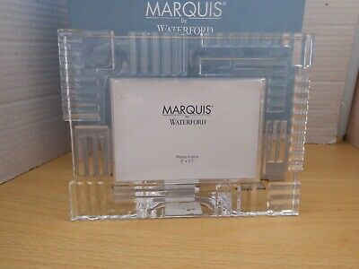 Waterford Crystal Marquis Photo Frame New & Boxed