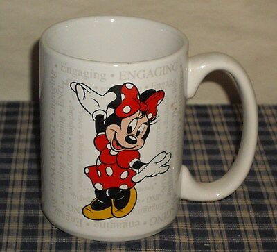 Disney Minnie Mouse Mug Engaging/Attractive Very Cute!