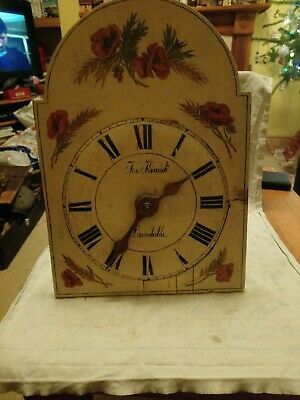 Black Forest Shield Clock For Spares Or Repairs