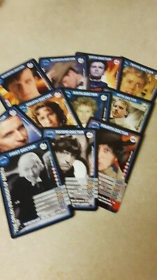 11 Doctor Who Collectable Cards