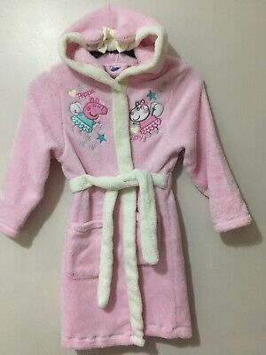 girls dressing gown 5-6 years Peppa Pig