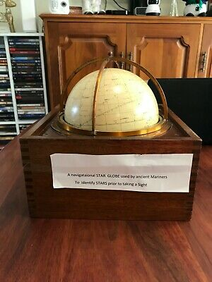 Antique Navigational Star Globe - Used by ancient mariners