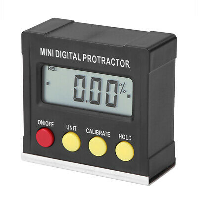 Multiuse Mini Digital Inclinometer Level Electronic Protractor Angle Gauge Meter
