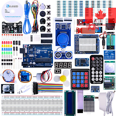 o UNO R3 Project Complete Starter Kit with Tutorial for Arduino Mega2560 UNO ...