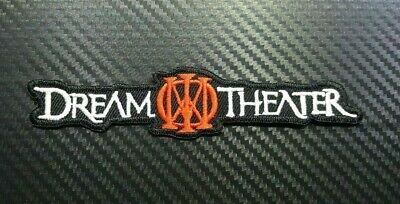 DREAM THEATER ROCK MUSIC METAL WOVEN BAND CAP Embroidered Iron Sew On Patch Logo