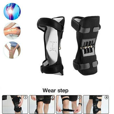 Power Knee Spring Force Leg Support Joint Pads Rebound Lift Stabilizer Powerful