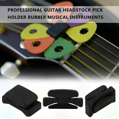 Professional Guitar HeadStock Pick Holder Rubber Musical instruments Sh