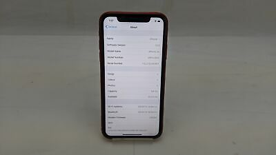 Apple iPhone A2105, 64GB, Wi-Fi, Unlocked, Product Red, Working/No Face ID
