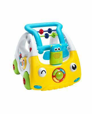Nuby Interactive First Steps Activity Push Along Walking Musical Baby Walker Toy