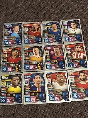Match Attax 2019/2020 Champions League  - Choose ANY 2 Man of the Match/MVP 99p
