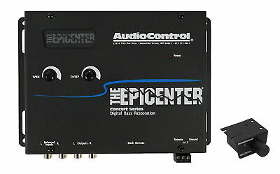 AudioControl The Epicenter Black Digital Car Bass Processor+Remote Audio Control