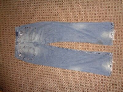 NANNYSTAT-boys jeans denim trousers age 15-16 CASUAL EVERYDAY SLIM TAPERED FADED
