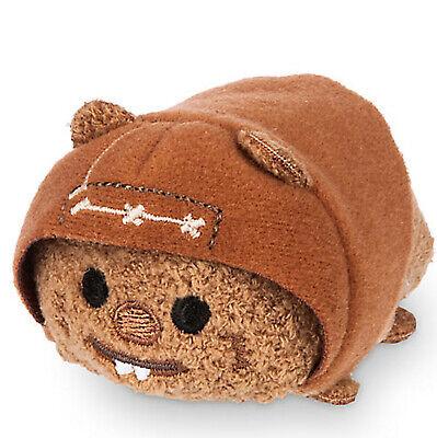 "Wicket Ewok 3.5"" Mini Tsum Tsum Plush Toy Star Wars Disney Store NWT"