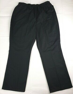 Chic Classic Collection Women's Cotton Pull-On Pant with Elastic Waist 18 Petite