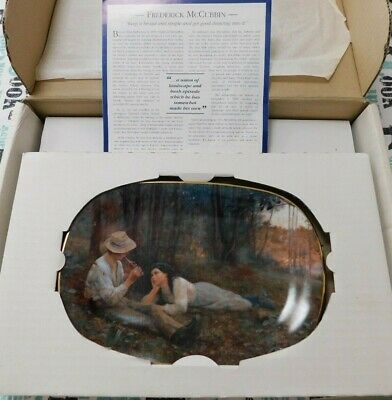"Bradford Exchange Collector Plate -""Bush Idyll"" by Frederick McCubbin 1999"