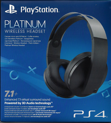 Sony PlayStation 4 PS4 Platinum Wireless Headset - FREE EXPRESS POST!