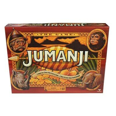 Jumanji Board Game Kids Family Entertainment Fun Games 2-4 Players Christmas Toy