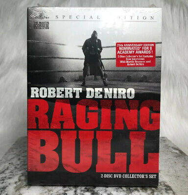 Raging Bull Special Collectors Edition DVD 2-Disc Martin Scorsese Boxing Movie