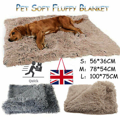 1x Extra Large Dog Cat Puppy Blanket Pet Soft Fluffy Blanket Cosy Warm Throw Mat