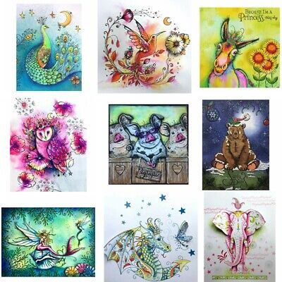 Fantasy Nature Animals Marine Organism Clear Stamps Seal Stencil Embossing Craft