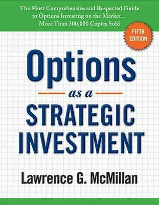 """Options as a Strategic Investment: 5th Edition """""""" HARDCOVER """""""""""