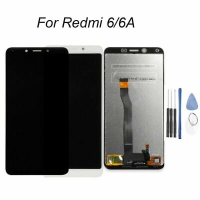 For Xiaomi Redmi 6 &6A LCD Touch Screen Digitizer Display Assembly Black Replace