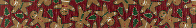 Country Brook Design® 1 Inch Gingerbread Polyester Webbing, 50 Yards