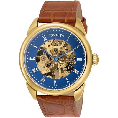 Invicta Men's Watch Specialty Mechanical Brown Leather Strap 30724