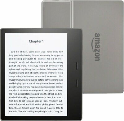 "Amazon Kindle Oasis 2 WiFi E-reader 32GB Graphite 6"" High-Res Display (300 ppi)"