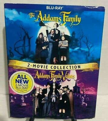 The Addams Family / Addams Family Values: 2 Movie Collection (Blu-ray) Region A.
