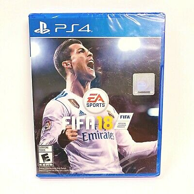 Electronic Arts FIFA 18 PS4 Sony Playstation Standard Edition New EA Sports