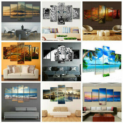 Modern Abstract Oil Painting Canvas Wall Art Poster Print Picture Home Decor US