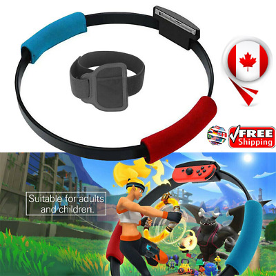 Switch Fitness Ring Fit Adventure Nintendo Switch (Ring-Con+Leg Strap) Fast ship