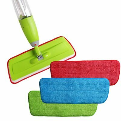 Household Washable Microfiber Pad Mop Heads Cleaning Cloth Mop Replacement Pads