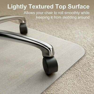 1150x1500mm PVC Floor Mat Frosted Hard Protector Office Desk Chair Non Slip  aa