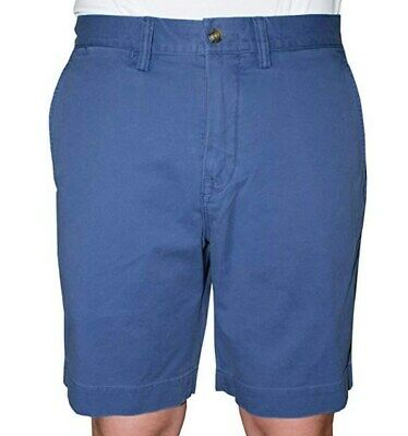 "POLO RALPH LAUREN Men's Stretch 9"" Classic-Fit Shorts Blue Size 38 38W NEW $85"