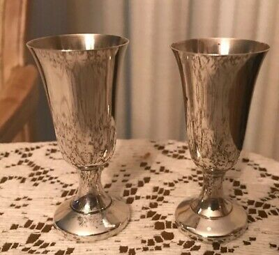 Two Vintage Wallace Sterling Cordials