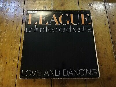 The League Unlimited Orchestra - Love And Dancing Lp Oved 6 Virgin 1982 Vg+!