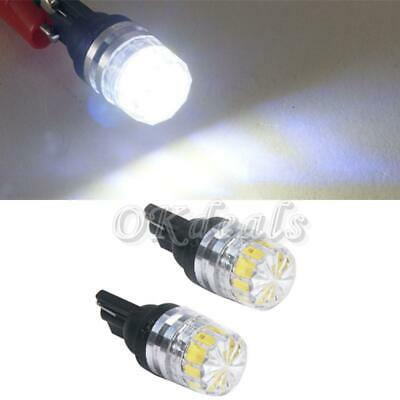 Auto Lamp Hot Bulb Car Wedge Side Lens Light 5630 SMD T10 W5W LED White DC 12V