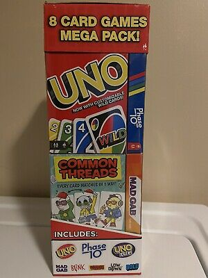 Card Game Mega Pack Including Uno, Uno Flip And More GET TO HAVE FOR XMAS HURRY!