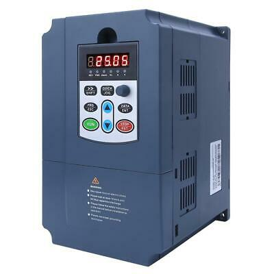 4KW Variable Frequency Inverter 1-Phase 220VAC Input to 3-Phase 0-380VAC Output