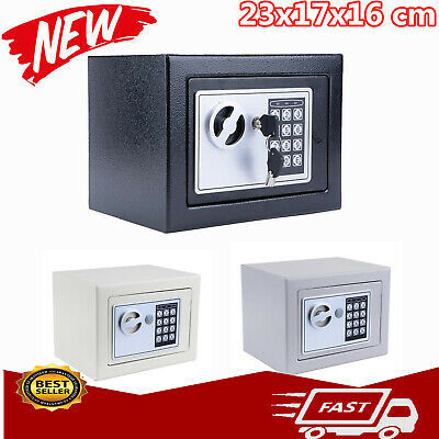 Digital Safety Box Secure Steel Safe Electronic Security for Home Office Money