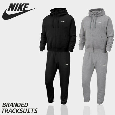 Nike Mens Hoodies Sweatpants Joggers Air Fleece Full Tracksuit Bottoms Hoody Top