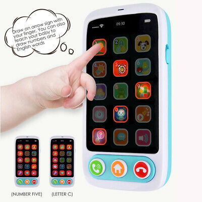 Kids Baby Multi-Functional English Version Touch Screen Toy Phone GDY7