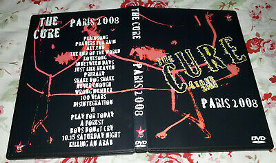 The Cure - Live in Paris 12-03-2008 DVD SPECIAL FAN EDITION, Rare!